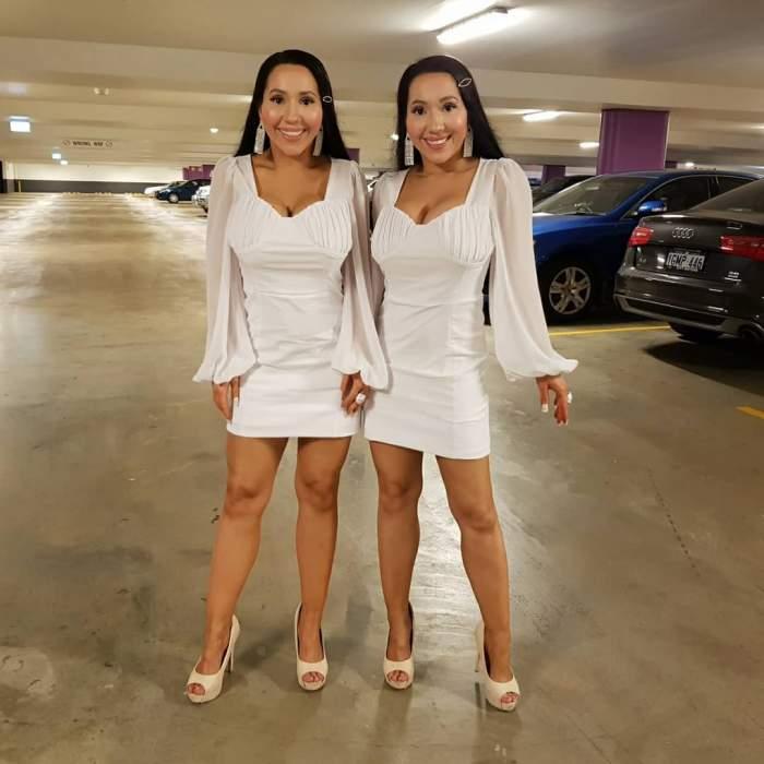 Au cheltuit o avere să se tuneze și împart același bărbat! Cum arată surorile gemene, dar și cum decurg partidele de amor între cei 3