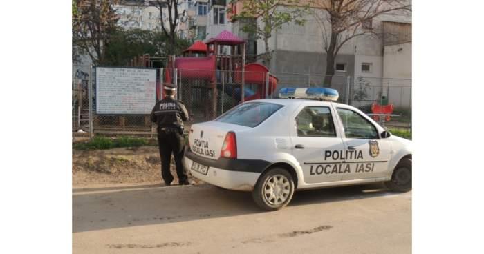 Paznic amendat de Poliţia Locală din Iaşi pentru că a ţipat prea tare când a văzut că vin hoţii