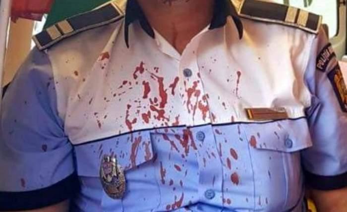 Scene halucinante într-un sat din Vâlcea! Doi polițiști au fost bătuți crunt și lăsați fără arme, apoi sechestrați într-o curte