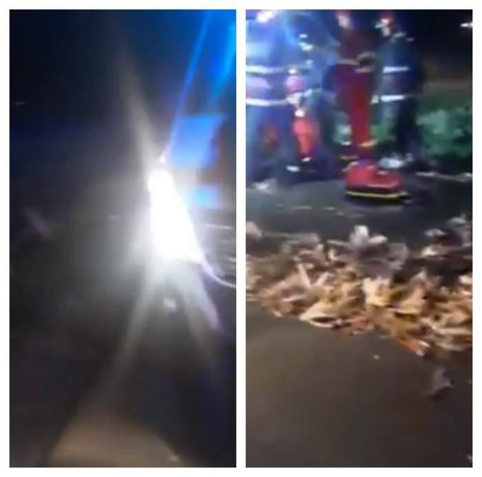 Accident mortal în Brăila. Mamă, tată şi fiul lor, spulberaţi de o dubă / VIDEO