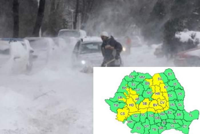 Vești cumplite de la meteorologi: Se instalează iarna în România! Urmează fenomene meteo extreme, în zilele următoare