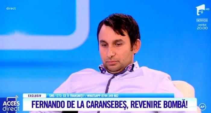 """Fernando de la Caransebeş a divorţat de soţie, după ce s-a pocăit. """"E un păcat"""""""