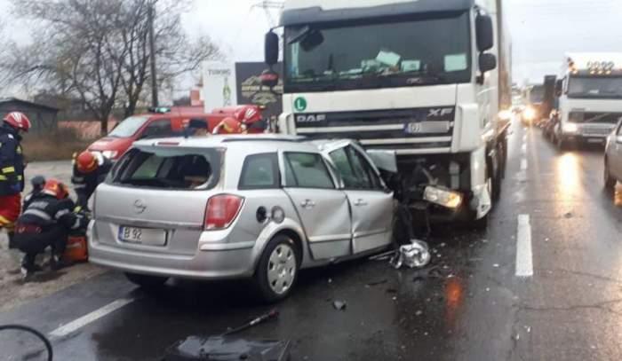 Accident cumplit în Argeş! Un bărbat şi-a pierdut viaţa, după o depăşire periculoasă