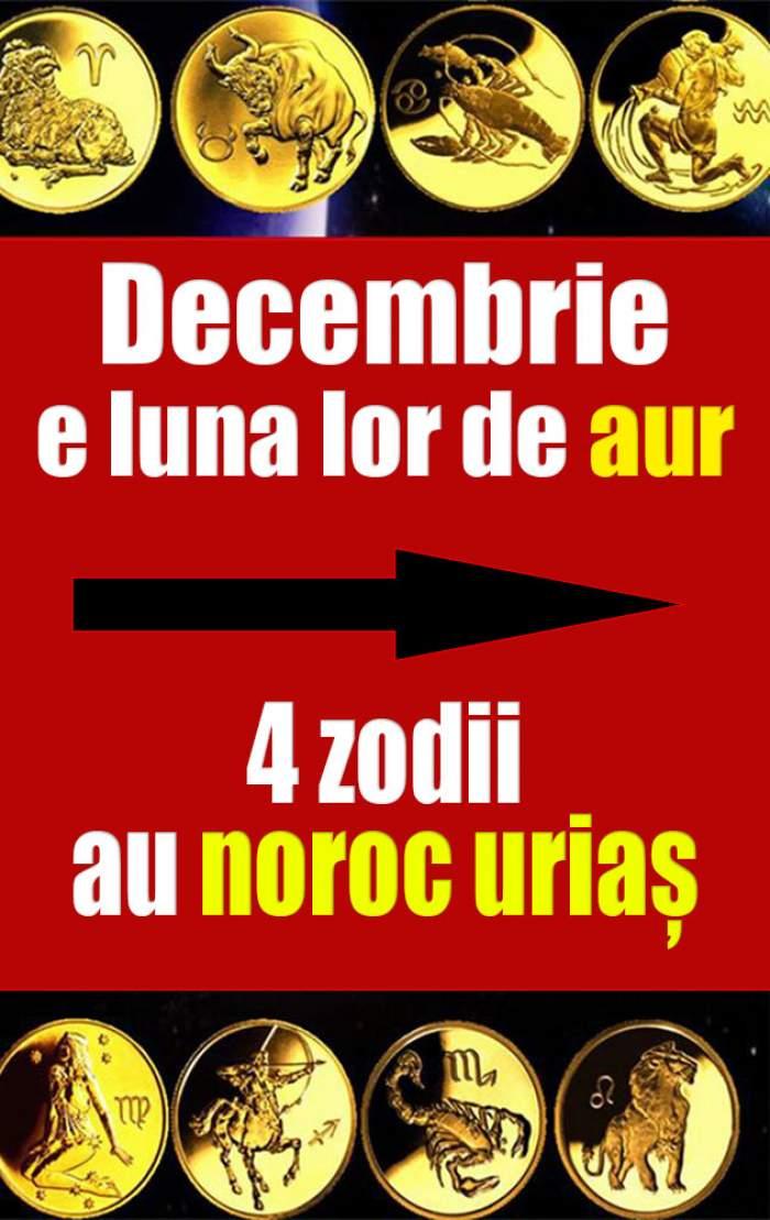 Decembrie e luna lor de aur! 4 zodii au noroc uriaș