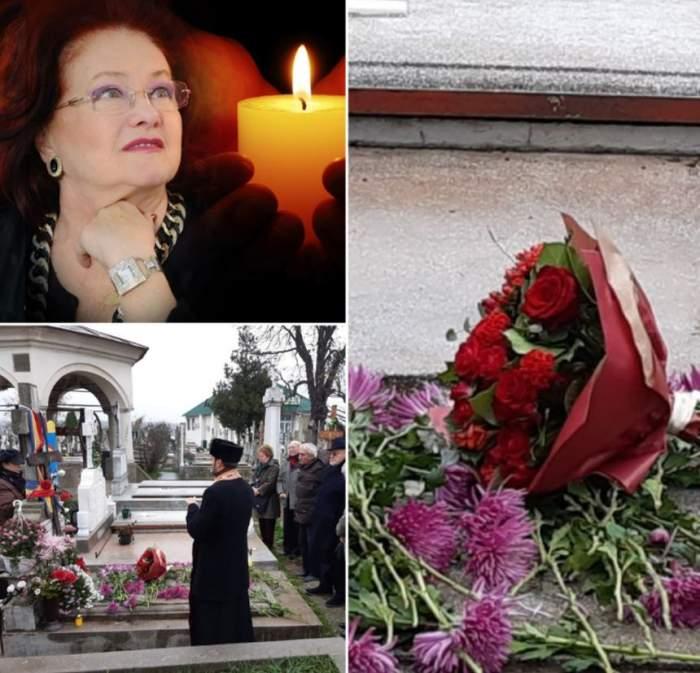 Doi ani fără Stela Popescu. Incredibil ce a împărţit familia la parastasul pentru doamna teatrului românesc / VIDEO