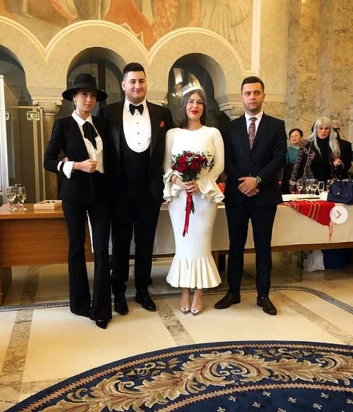Nuntă mare în showbiz! Gabriel Oprea Jr. s-a căsătorit astăzi! În urmă cu câteva luni se iubea cu Daniela Crudu