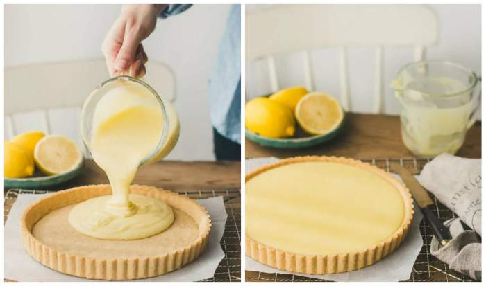 Rețetă clasică de tartă cu lămâie
