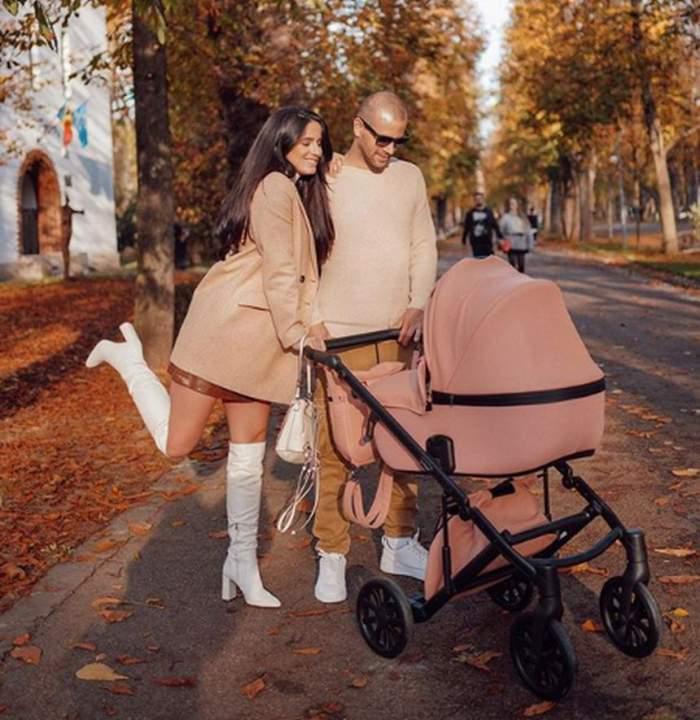 Ioana Grama a plecat în prima vacanţă împreună cu fetiţa ei, la patru săptămâni de la naştere