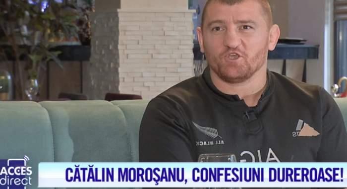 """Secretul lui Cătălin Moroşanu! A spus totul la Acces Direct: """"I-am făcut respiraţie gură la gură"""" / VIDEO"""