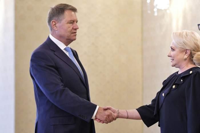 Viorica Dăncilă l-a sunat pe Klaus Iohannis, după ce a aflat rezultatul alegerilor. Ce i-a spus contracandidatului ei