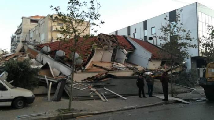 Români, afectați de seismul puternic petrecut în Albania. Cutremurul a avut 6,4 grade