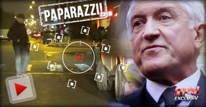 """VIDEO PAPARAZZI / Dacă ar fi fost pentru o zi preşedinte, sigur şi-ar fi schimbat maşina! Mircea Diaconu, proprietarul unui autoturism din """"Epoca de Aur"""""""