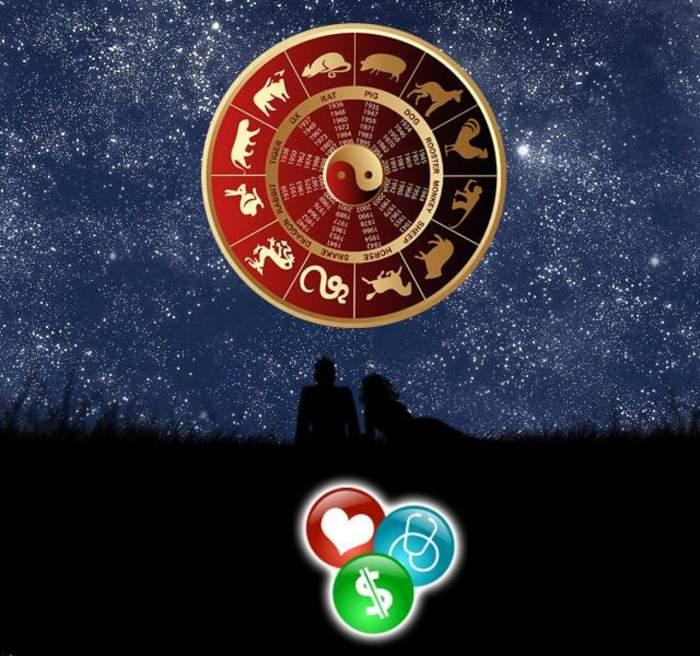 Horoscop chinezesc pentru joi, 28 noimebrie: Caii vor avea noroc la bani şi în dragoste, iar Cocoşii trebuie să fie mai încrezători