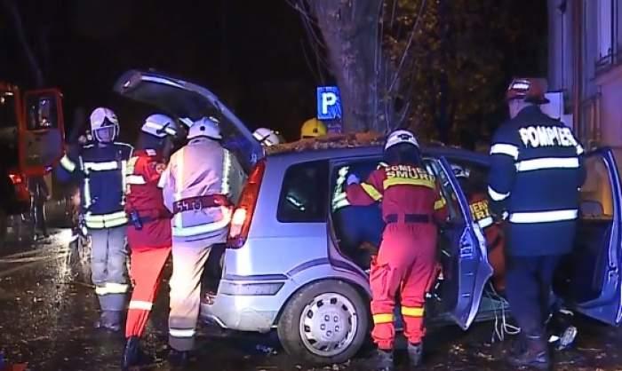 Accident grav în Târgu Mureș! Patru adolescente au ajuns la spital, după ce au plecat de la o petrecere