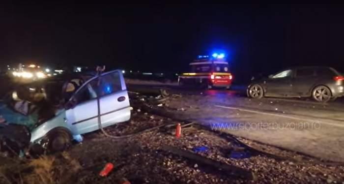 Accident groaznic pe E85! Două femei însărcinate, în stare gravă / FOTO