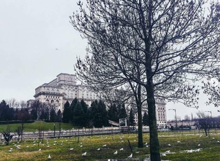 Vremea în București, duminică, 1 decembrie. Cer înnorat și maxime de 8 grade Celsius