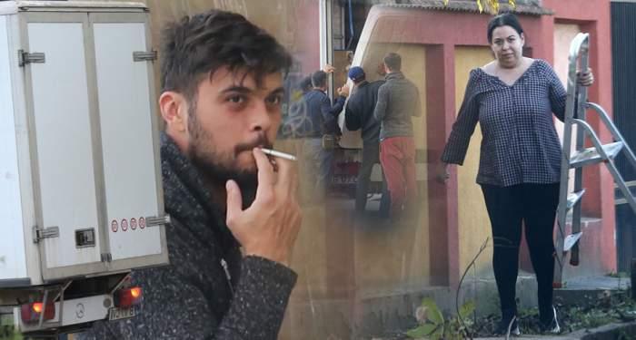 VIDEO PAPARAZZI/ Oana Roman se mută în casă nouă. Pregătirile sunt pe ultima sută de metri, iar vedeta muncește din greu pentru a-și vedea visul împlinit