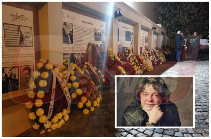 FOTO EXCLUSIV / Cum arată locul unde este depus trupul lui Leo Iorga. Artistul este înmormântat marți