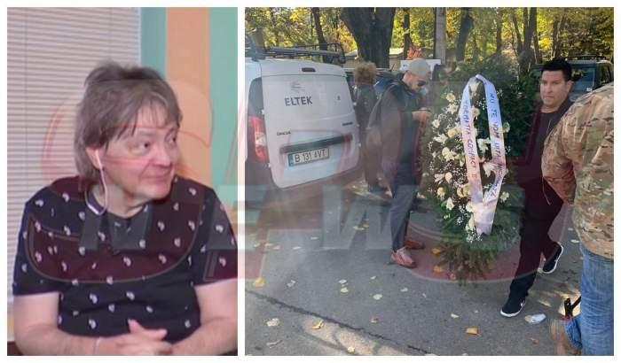 FOTO / Trupa Compact, gest sfâșietor la înmormântarea lui Leo Iorga. Artistul este condus azi pe ultimul drum