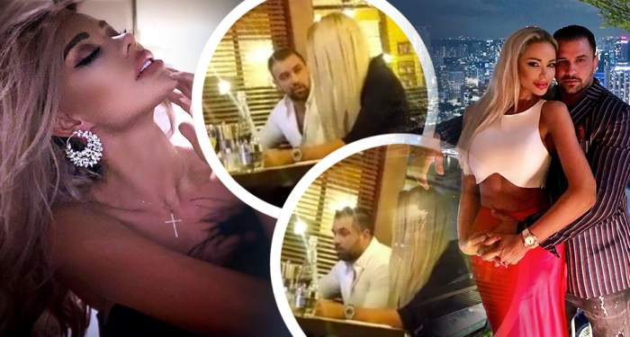 VIDEO EXCLUSIV / A avut loc marea împăcare?! Imagini bombă cu Bianca Drăguşanu şi cu Alex Bodi la ceas de seară