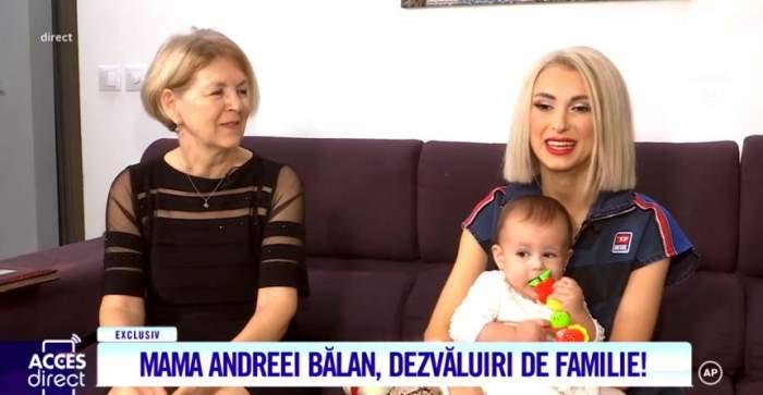 Mama Andreei Bălan a dat totul din casă. Cum era artista în copilărie, până să devină celebră / VIDEO