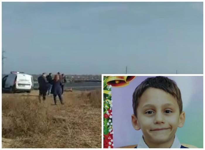 Primele imagini cu locul unde a fost găsit Iulian, băiețelul dispărut din Pecineaga / VIDEO