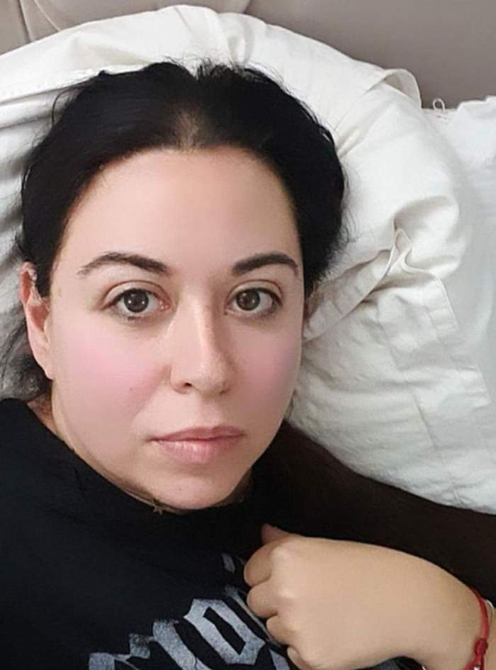 """Oana Roman a căzut la pat. Vedeta are probleme serioase de sănătate. """"Sunt foarte bolnavă"""""""