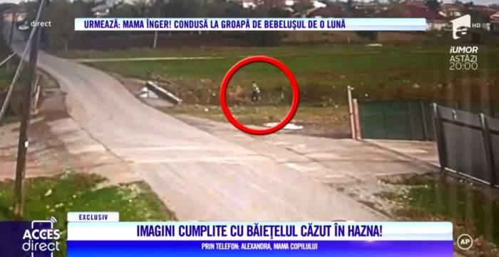 Ultimele imagini în viaţă cu băieţelul din Pecineaga găsit mort, într-o hazna / VIDEO