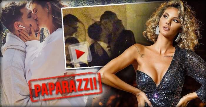 VIDEO PAPARAZZI / Imagini interzise cardiacilor cu Ramona Olaru şi iubitul ei! Cei doi au dat frâu liber sentimentelor pe treptele Palatului Parlamentului