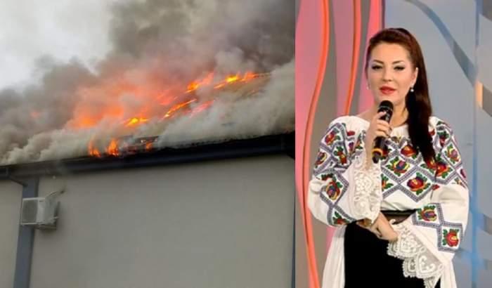 VIDEO/ Ultimă oră. Sala de nunți a Angelei Rusu, în flăcări