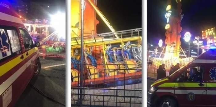 Incident într-un parc de distracții din Timișoara! O femeie a leșinat într-un carusel