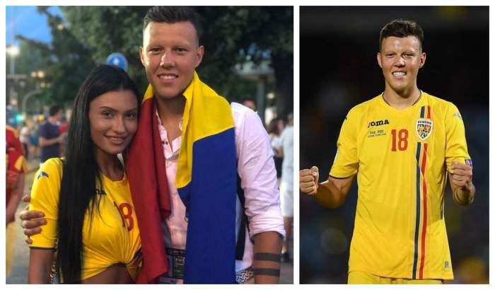 FOTO / Una dintre vedetele Naționalei U21 de fotbal a României, vacanță de vis, împreună cu iubita! Ce destinație de lux au ales cei doi