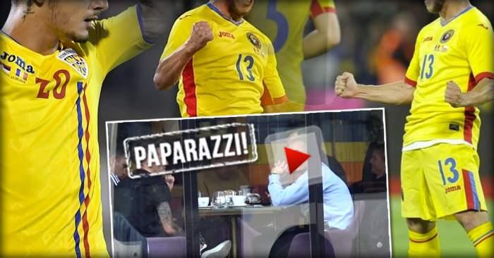 VIDEO PAPARAZZI / Ce le mai place viaţa de huzur! Iată cum s-au răsfăţat doi fotbalişti de naţională în Capitală