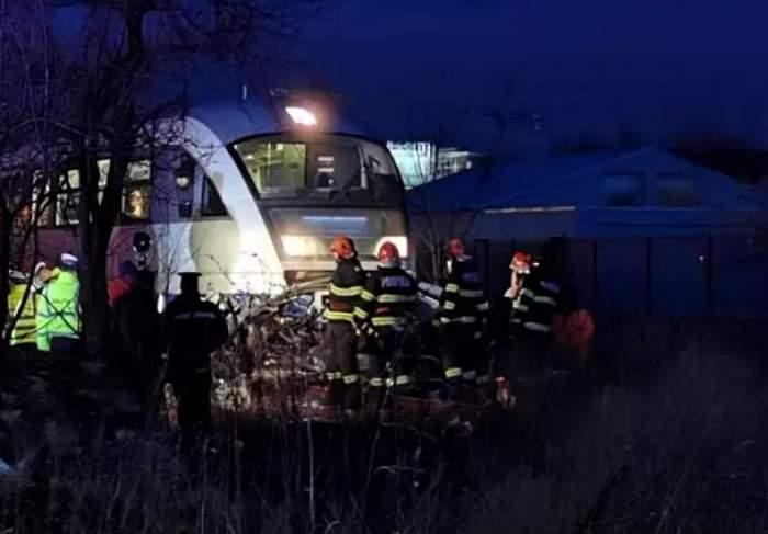 Accident grav în Timişoara! Un şofer a fost spulberat de tren