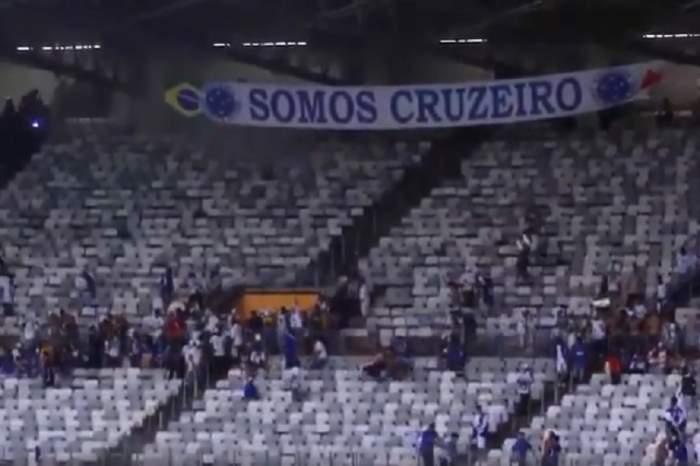 VIDEO / Scene de groază  în Brazilia, după retrogradarea istorică a celor de la Cruizeiro Belo Horizonte!