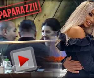 """VIDEO PAPARAZZI / Au pus pe pauză ieșirile doar în doi! După împăcare și """"răspăcare"""", Bianca și Bodi au ajuns sub supravegherea prietenilor"""
