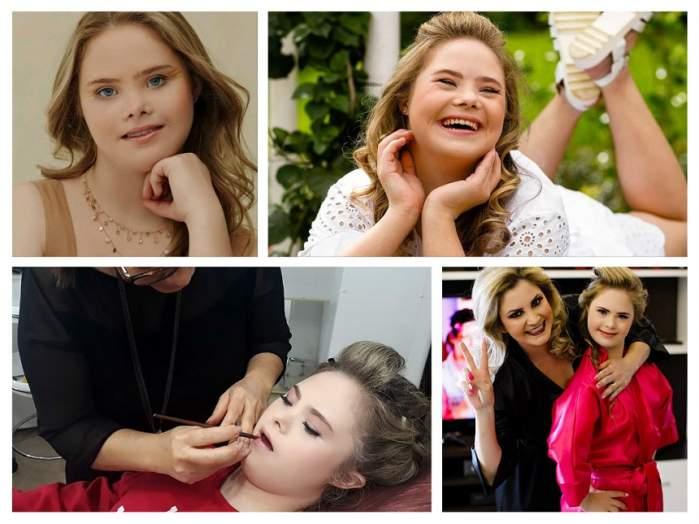 FOTO / Imagini emoţionante ale unui model din Brazilia! Sindromul Down nu a împiedicat-o să semneze contracte importante de modeling