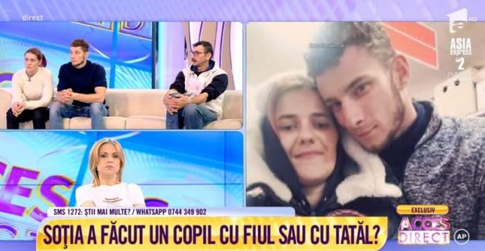 VIDEO / Telenovelă sumbră! Soțul pe moarte acuză că fiul i-a furat soția