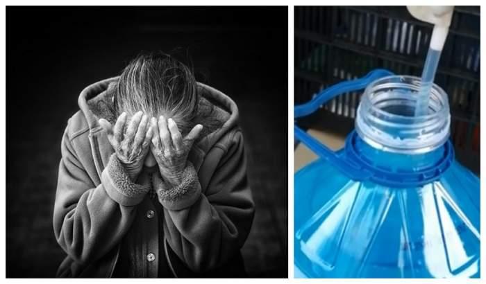 O bătrână din Iaşi se luptă între viaţă şi moarte, după ce a băut din greşeală lichid de parbriz