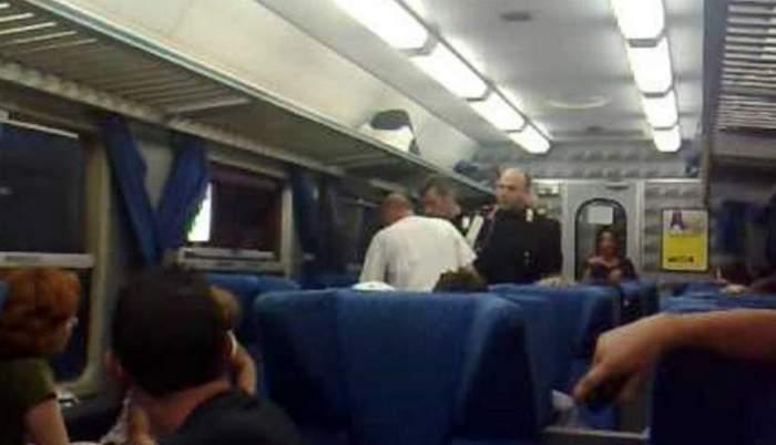 Un român a bătut un controlor de tren în Italia, după ce bărbatul l-a pus să-i arate biletul