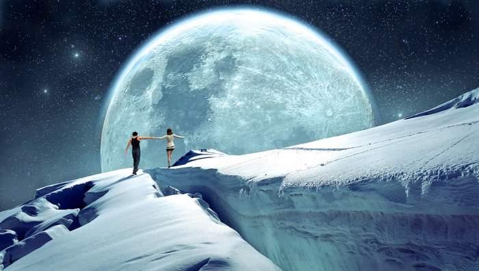 Superluna Zăpezii, în noaptea de 19 februarie. Ce trebuie să știi despre cea mai luminoasă lună din an