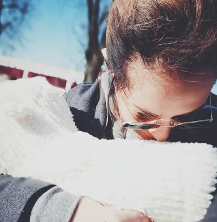 Feli a ales nașa pentru fetița ei, Nora Luna! Este o persoană specială în viața ei