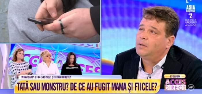 VIDEO / Tată sau monstru? De ce au fugit fetele şi mama din casa lui Gabriel Floricică