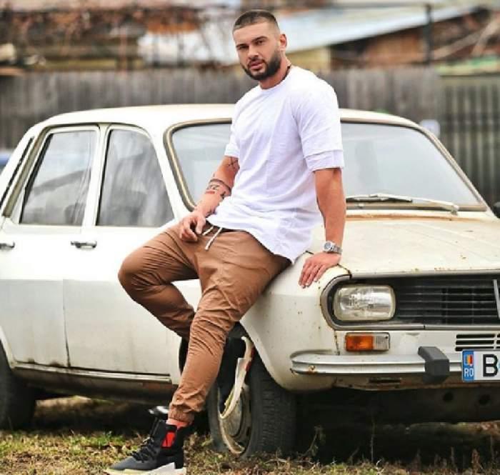 FOTO / Dorian Popa, unde-ți sunt fițele? Artistul s-a fotografiat lângă o Dacia 1300, iar fanii l-au luat la mișto