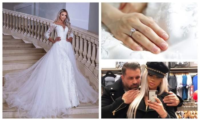 """FOTO / Bat clopote de nuntă în showbiz? Bianca Drăgușanu, din nou în rochie de mireasă: """"Nu ne alegem întâmplător unii pe alții"""""""