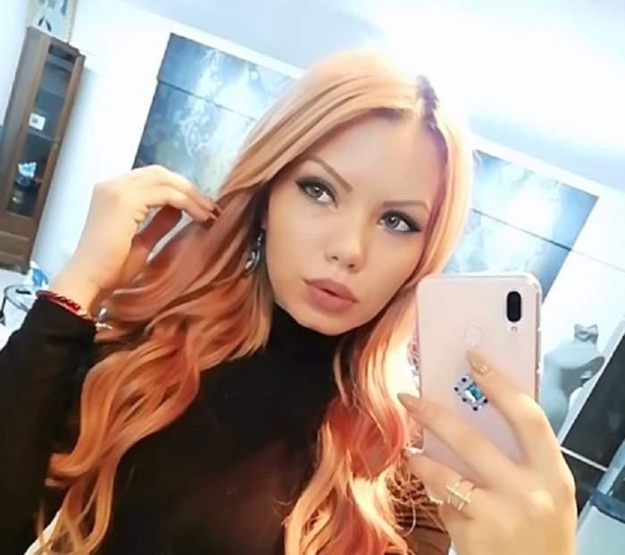 Părul blond, sprâncenele negre! Beyonce de România, transformată după ce le-a tatuat din nou