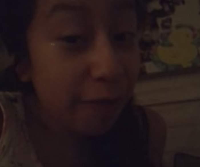 VIDEO ȘOCANT! O fetiță s-a filmat în momentul în care i-a explodat casa, înainte să moară