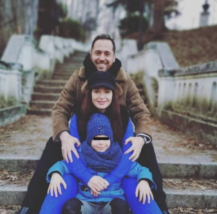 """Fiul Deei şi al lui Dinu Maxer împlineşte 8 ani. """"Noi vom fi mereu lângă tine"""""""