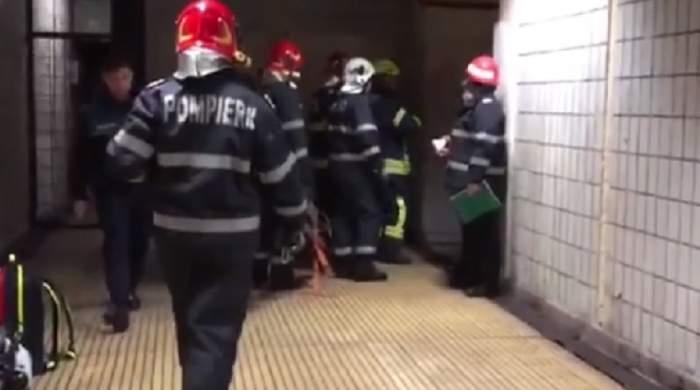 Cine este persoana care a vrut să se sinucidă la metrou Apărătorii Patriei. Victima a scăpat cu viaţă