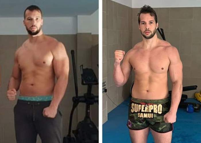 Fostul Biancăi Drăguşanu îşi pregăteşte trupul pentru vară. Tristan Tate a slăbit cinci kilograme în timp record